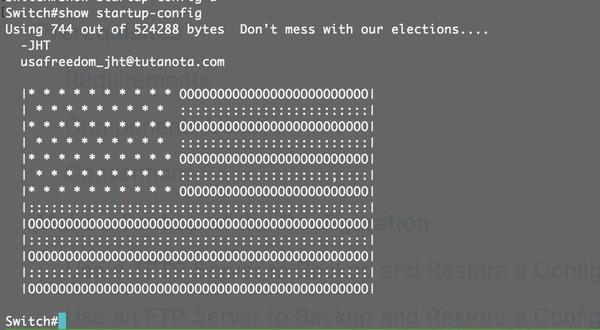 Послание хакеров для провайдеров