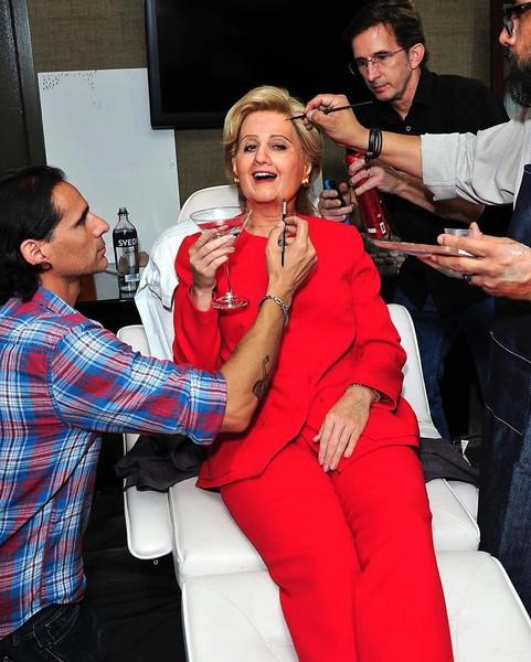 Кэти Перри в образе Хилари Клинтон