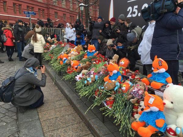 Акция на Манежной площади