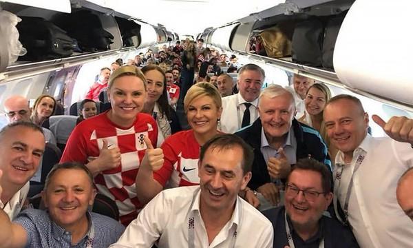 Фото с эконом-класса с борта самолета